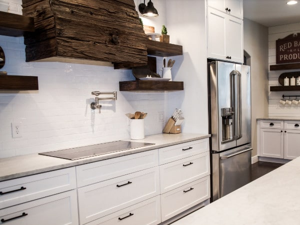 Prestige Cabinets & Wood Works White Kitchen Cabinets